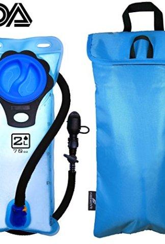 Shutoff Valve Quick Release Tube Tasteless TPU FREEMOVE 2L or 3L Hydration Bladder /& Cooler Bag Keeps Drink Cool /& Protects Bladder or Replacement Bite Valve Leak Proof Water Reservoir