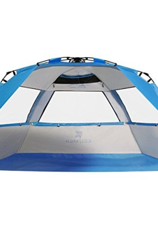 G4free Easy Set Up Beach Tent Deluxe Xl Portable 4 Person