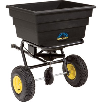 manual spyker grass fertiliser spreader