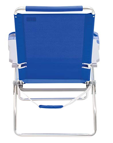 Pleasant Rio Beach 15 Extended Height 4 Position Folding Beach Chair Home Interior And Landscaping Ferensignezvosmurscom