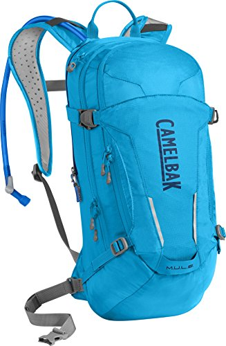 100 Ounce Mountain Biking Hydration Pack 20 Percent More Water Per Sip CamelBak M.U.L.E Magnetic Tube Trap Easy Refilling Hydration Backpack