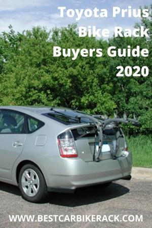 Toyota Prius Bike Rack Buyers Guide 2020