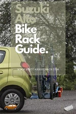 Suzuki Alto Bike Rack Guide
