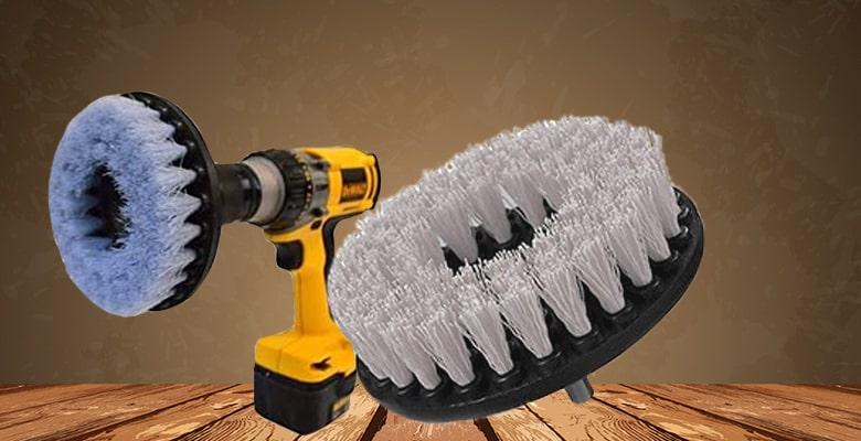 drill brush attachment