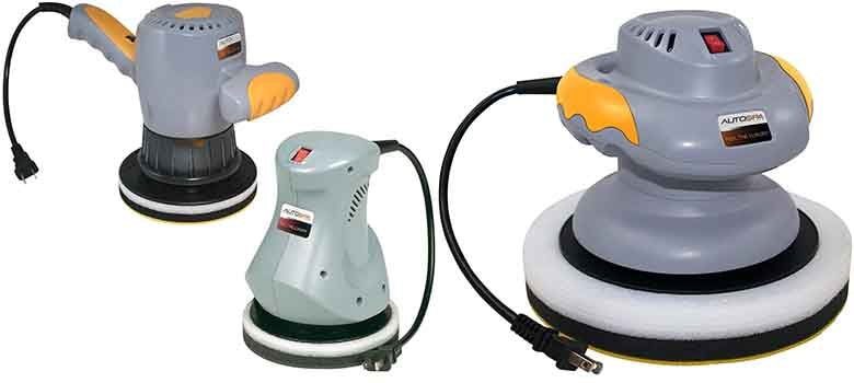electric car buffer polisher
