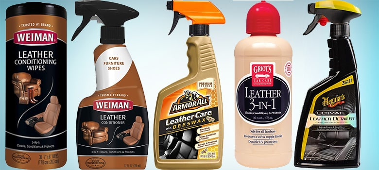 06. Best Leather Cleaner, Conditioner & Wipes