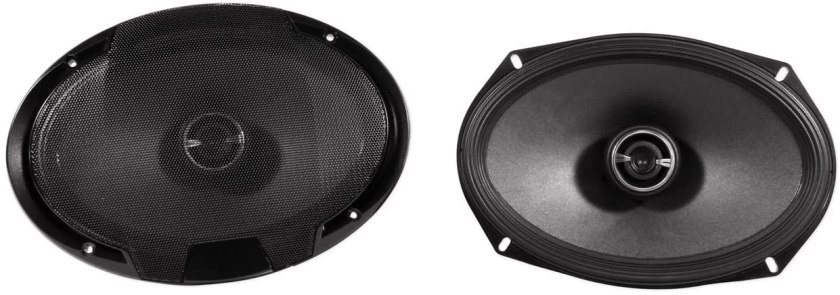 Best Car Speakers for Sound Quality and Bass Alpine SPR-69 Coaxial Speakers