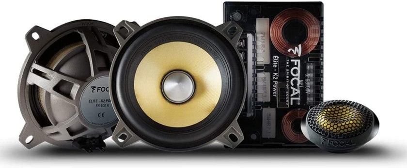 Best 4-Inch Component Car Speakers Focal ES 100 K Component Speakers
