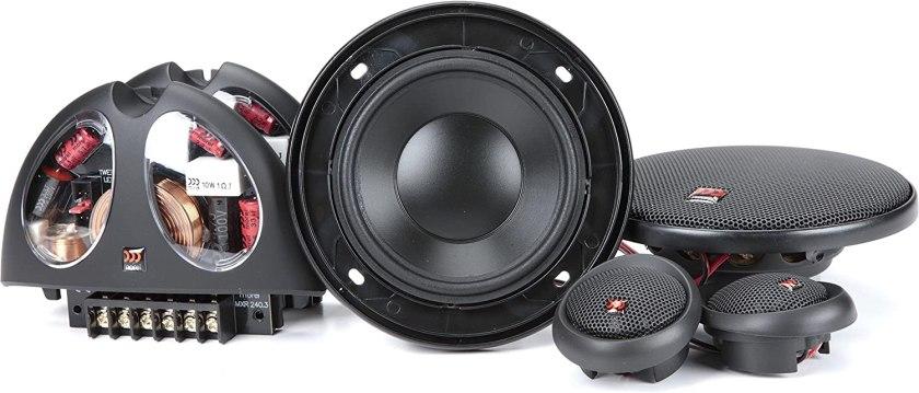 Best 4-Inch Component Car Speakers Morel Hybrid 402 4-inch Component car Speaker System