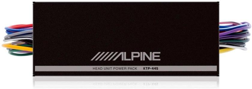 Best 4 Channel Car Amp for Sound Quality Alpine KTP-445U Amplifier