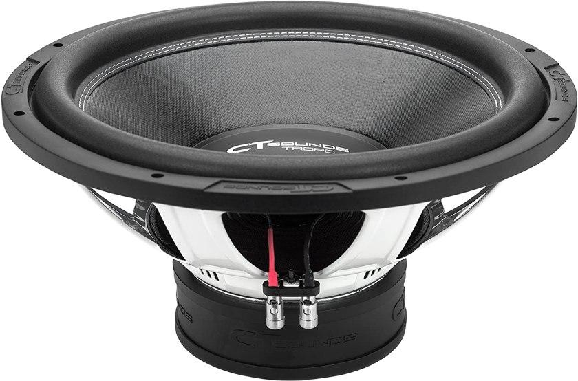 CT Sounds Tropo Car Audio Subwoofer Best 8 Inch Shallow Mount Subwoofer