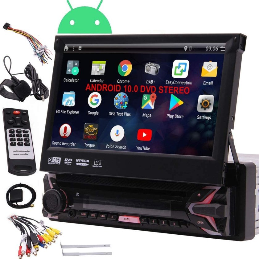 EINCAR 7 HD Car DVD Player Android 10 Car Stereo