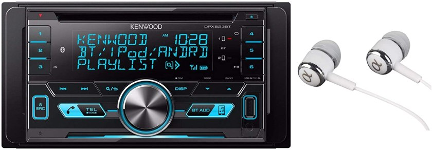 Kenwood Double-DIN In-Dash Car Stereo Best Double Din Car Stereo Under $200