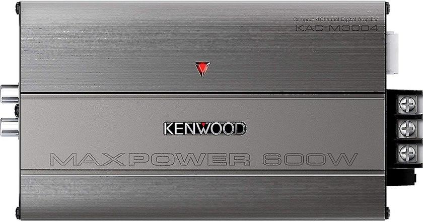 Best 4 Channel Car Amp for Sound Quality Kenwood KAC-M3004 4-Channel Digital Amplifier