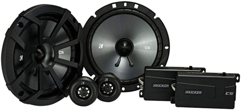 Best 6 3.4 Speakers Kicker 40css674 component speakers