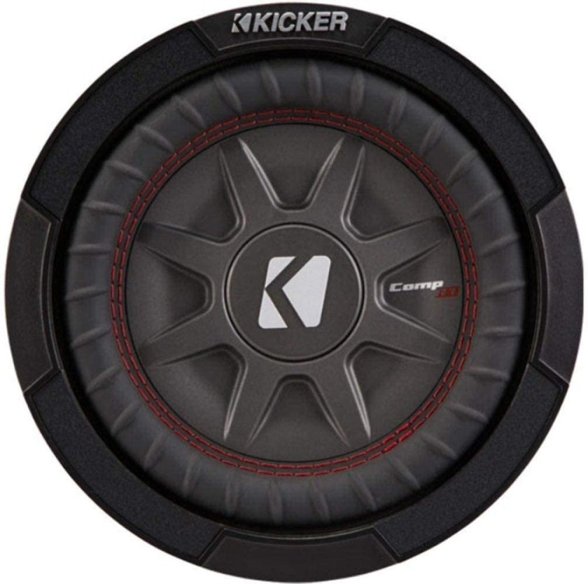Kicker 43CWRT82 Dual Shallow Slim Car Subwoofer Best 8 Inch Shallow Mount Subwoofer