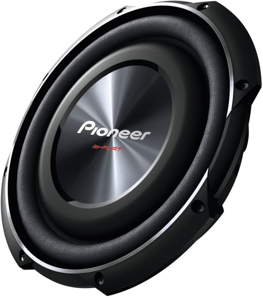 PIONEER TS-SW2502S4 Shallow-Mount Subwoofer Best Shallow Mount 10 inch Subwoofer