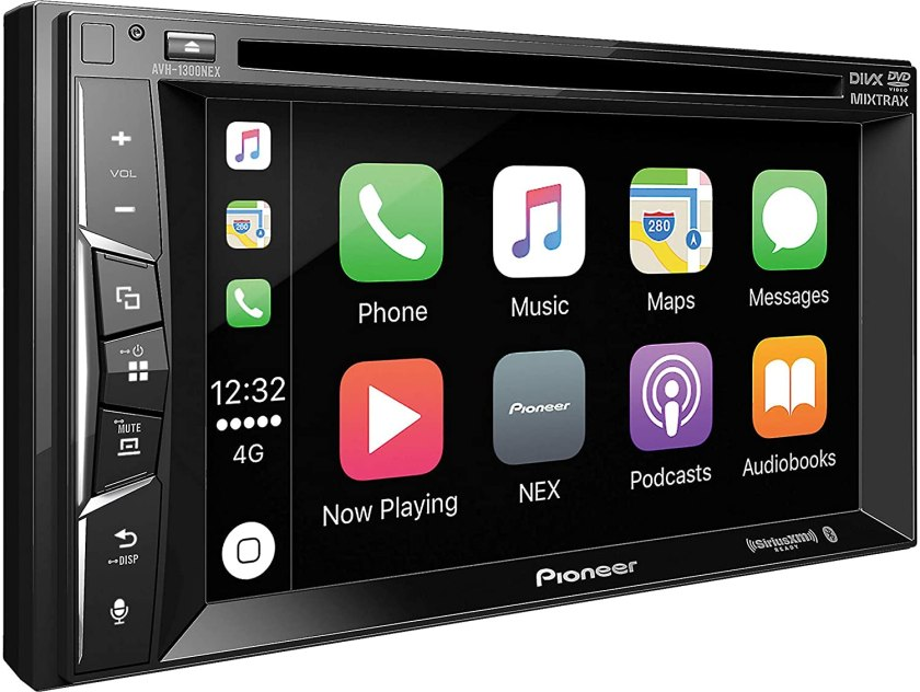 Pioneer AVH-1300NEX Multimedia DVD Receiver...  Best Double Din With Backup Camera