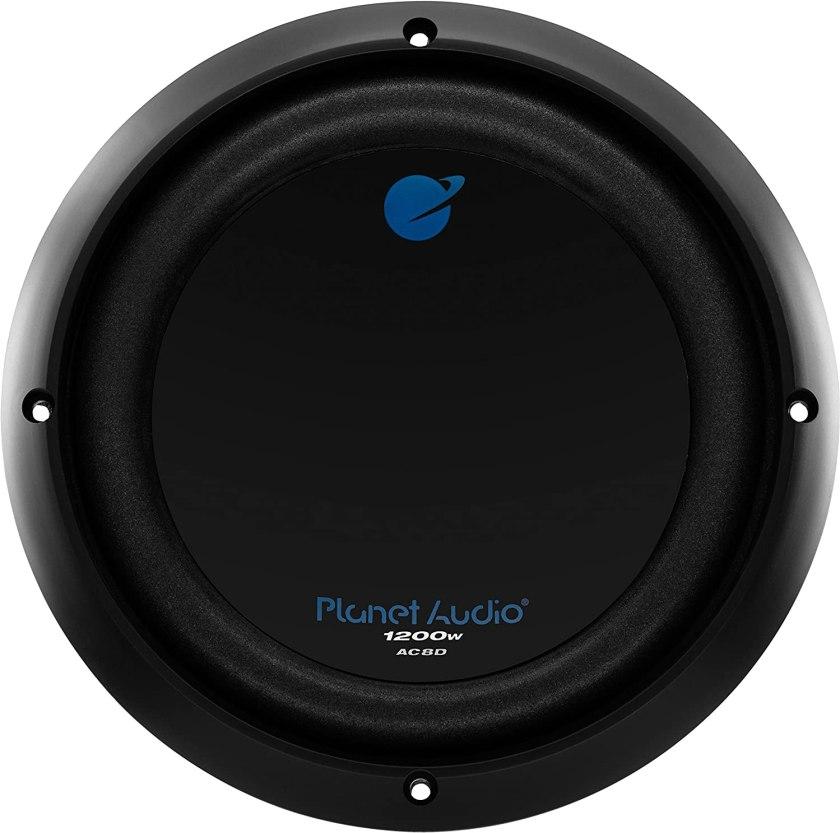 Best 8-inch Subwoofer Car Audio Planet Audio AC8D Car Subwoofer..