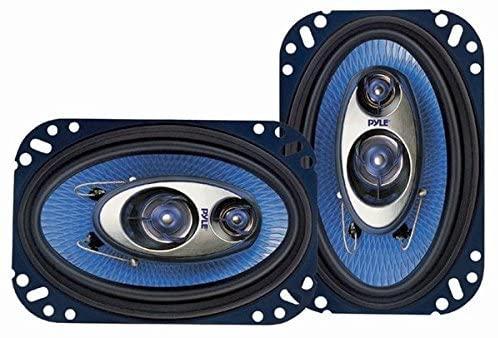 "Pyle 4"" x 6"" 3-Way Sound Speakers"