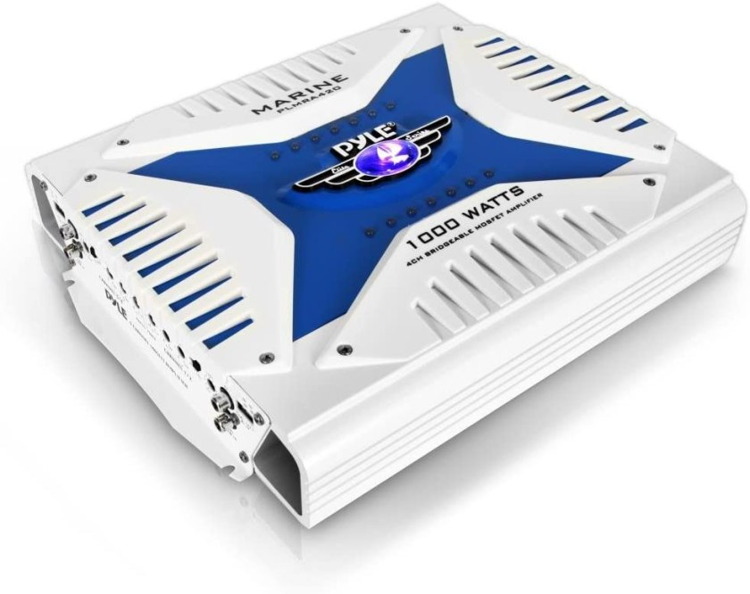 Pyle Hydra Marine Elite Series Amplifier Best 4 Channel Amplifiers Under $200