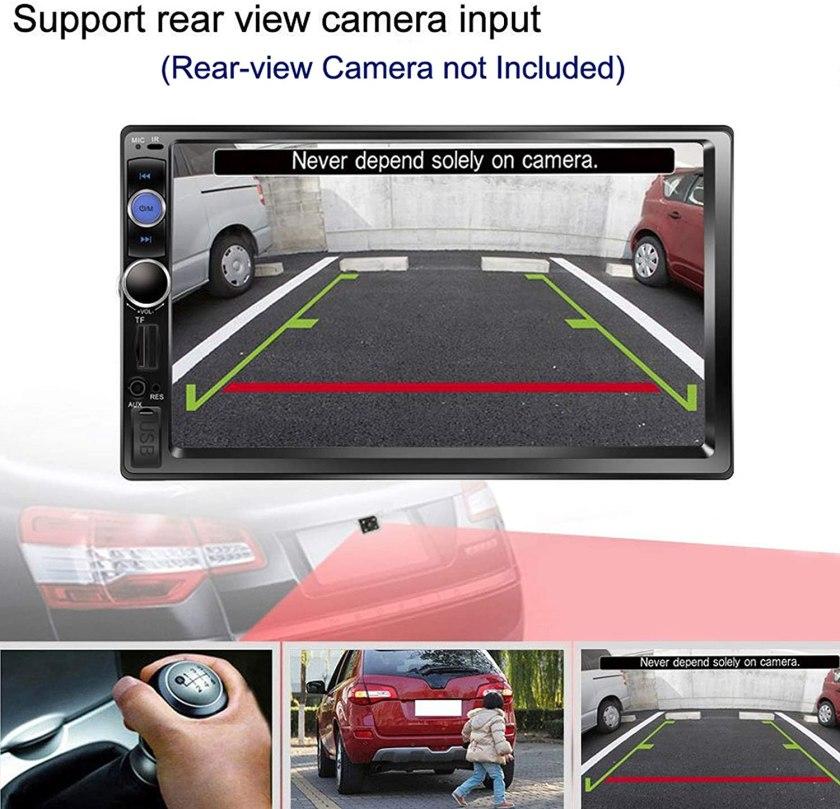 Regetek touchscreen stereo Best Buy Double Din Car Stereo