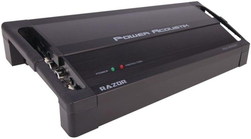 Power Acoustik RZ1-3500D amplifier