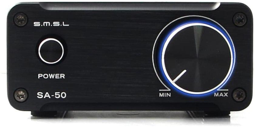 SMSL SA50 TDA7942 Amp and Adapter