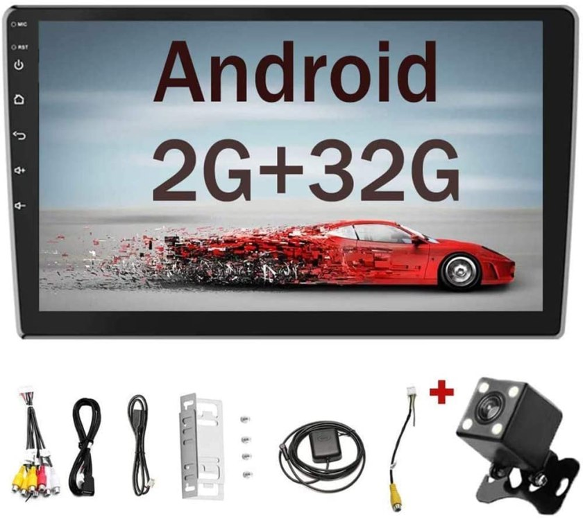 Camecho 2Din Android Stereo Car Touchscreen Radio with Bluetooth
