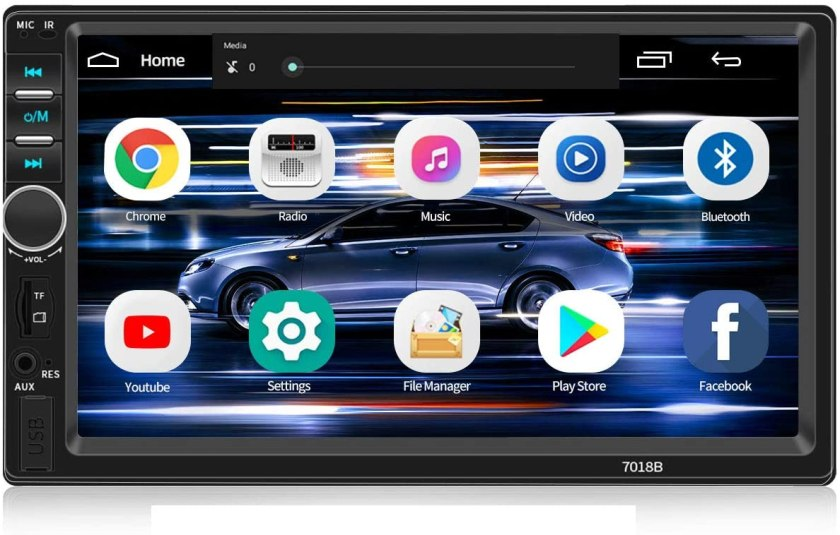 WZTO 7 inch Touch Screen Double din car Radio,Compatible
