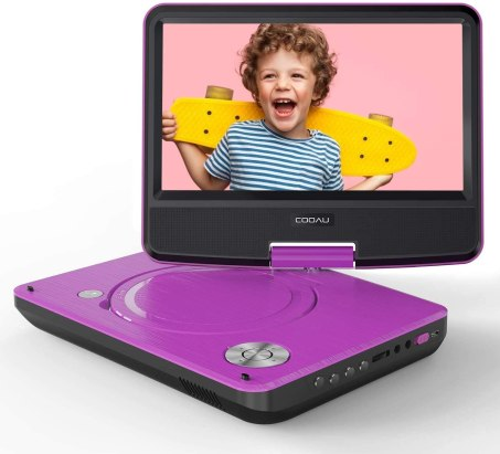 Best Portable DVD Player under $50, COOAU Portable DVD Player 11.5-inch