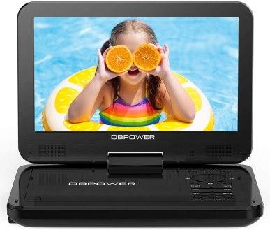 Best Portable DVD Player under $50, DBPOWER 10.5-inch Portable DVD Player