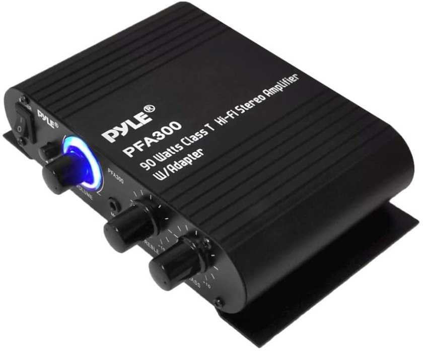 Best Sub And Amp Combo Best Buy, Pyle PFA300, Black, 8.30in