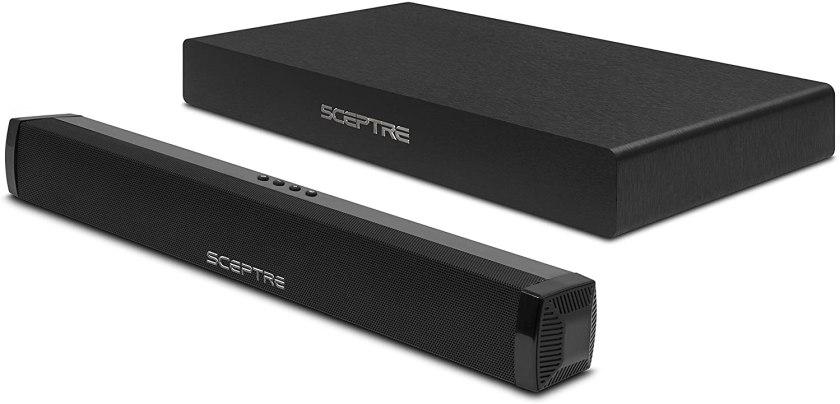 Sceptre SB80-PS SB, Best Soundbar with Subwoofer under 100