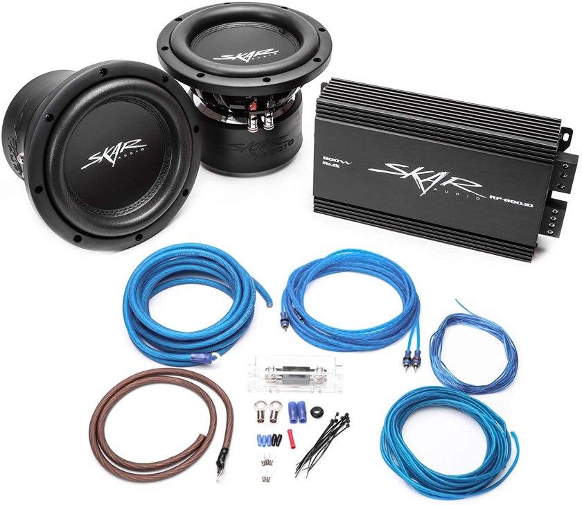 Best Subwoofer and Amp Packages Best Buy, Skar Audio (2) VVX-8V3