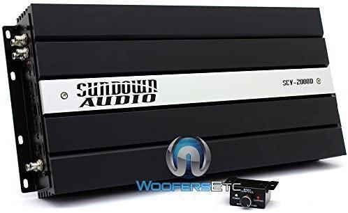 Sundown Audio SCV 2000 Amplifier