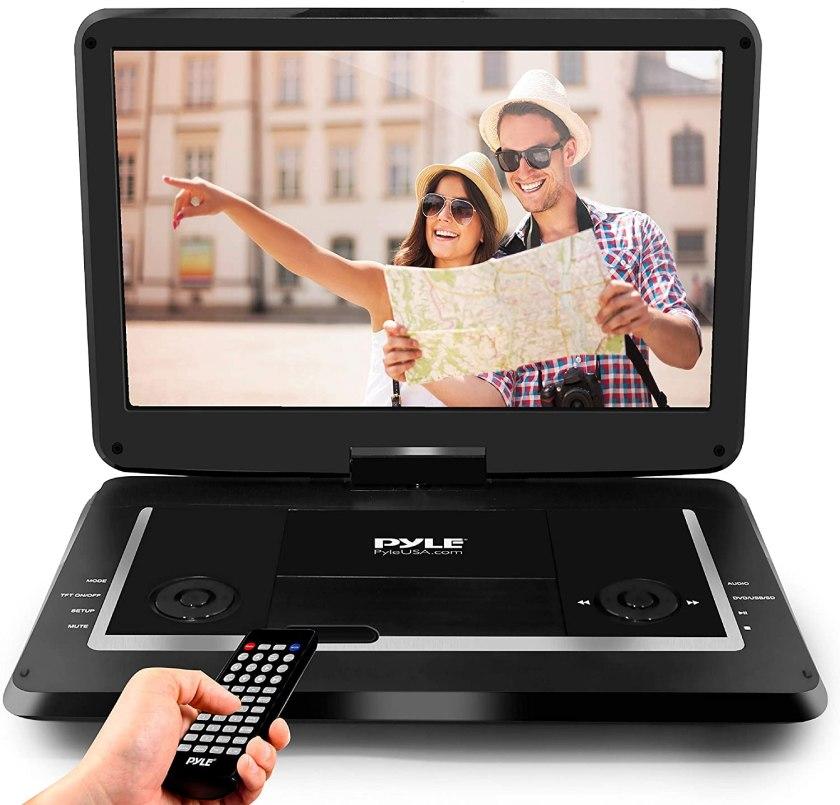 Pyle 17.9 Portable DVD Player