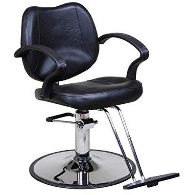 Mae's Black Barber Chair