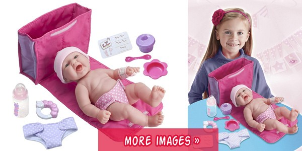 silicone baby doll gift set