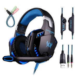 ENVEL G2000 PC Gaming Over-ear Professional Headset