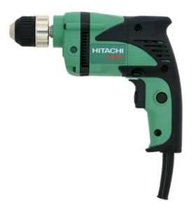 Hitachi D10VH 6.0-Amp 3-8-Inch Reversible Driver Drill with Keyless Chuck