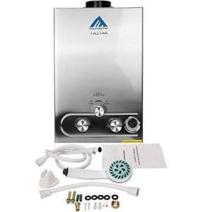 Ridgeyard 8L 2GPM LPG Propane Gas Tankless Instant Hot Water Heater