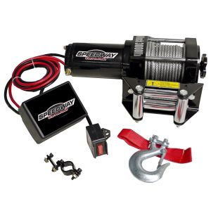 Speedway 7253 3000-Pound Line Pull Capacity Electric Winch