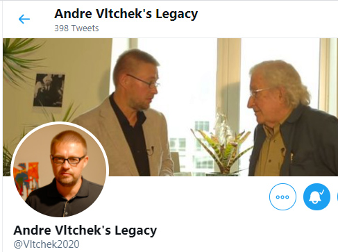 Andre Vltchek with Noam Chomsky
