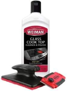 Weiman Cooktop Cleaner Kit - Best Glass Cooktop Cleaner