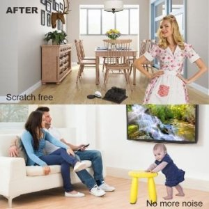 Hacks to Keep Furniture from Sliding