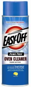 easy-off fume free oven cleaner