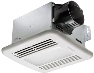Delta BreezGreenBuilder Series GBR80HLED Bathroom Exhaust Fan with Light and humidity sensor