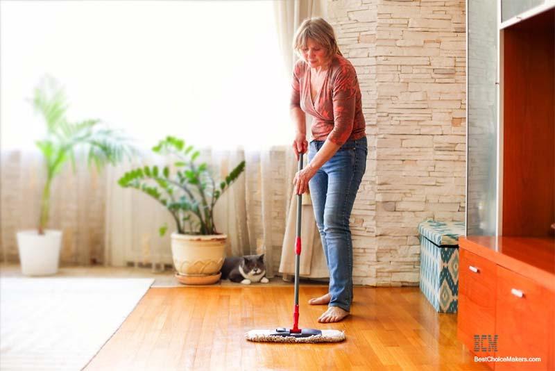 how to clean polyurethane wood floors
