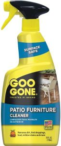 Goo Gone Patio Furniture Cleaner - Best Mold Remover Spray for Wood Deck & Furniture
